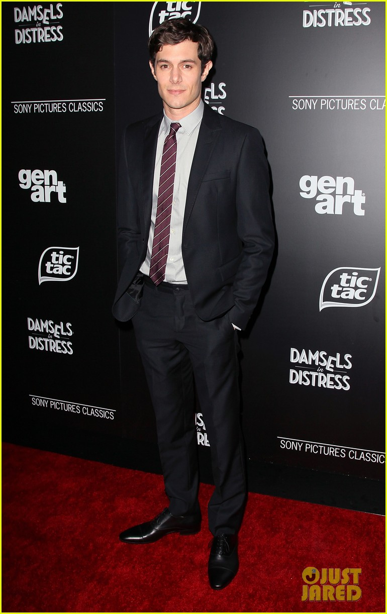 adam brody analeigh tipton damsels in distress premiere 16