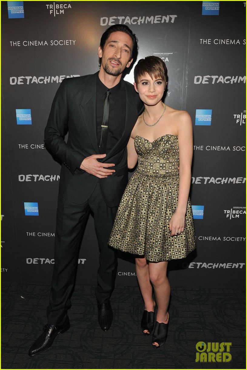 Adrien Brody & Lucy Liu: 'Detachment' Premiere! Adrien Brody