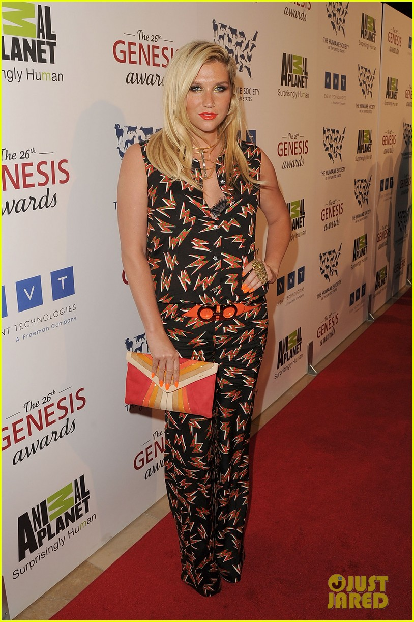 sophia bush kesha genesis awards 15