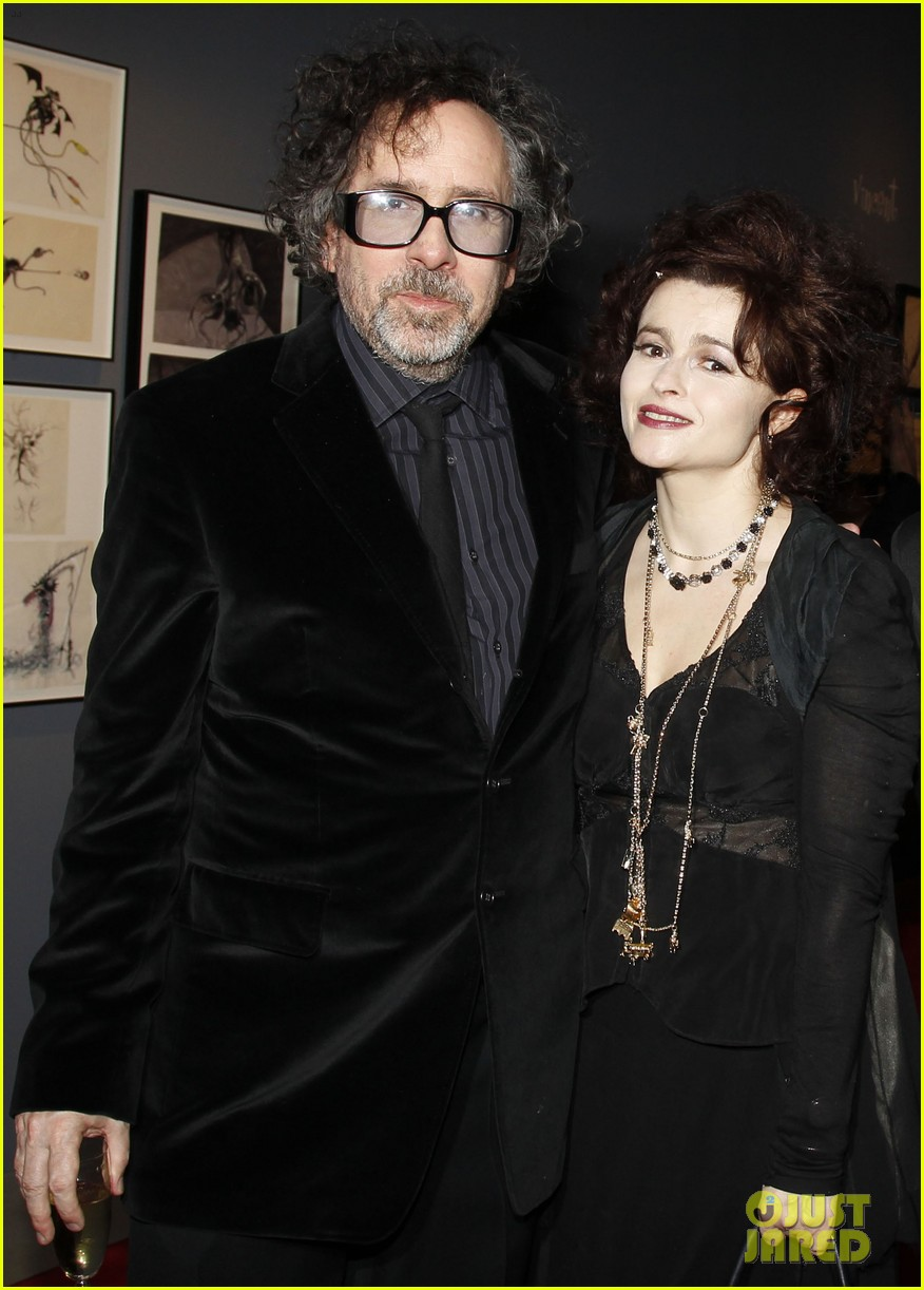 helena bonham carter tim burton exhibition with eva green 032636168