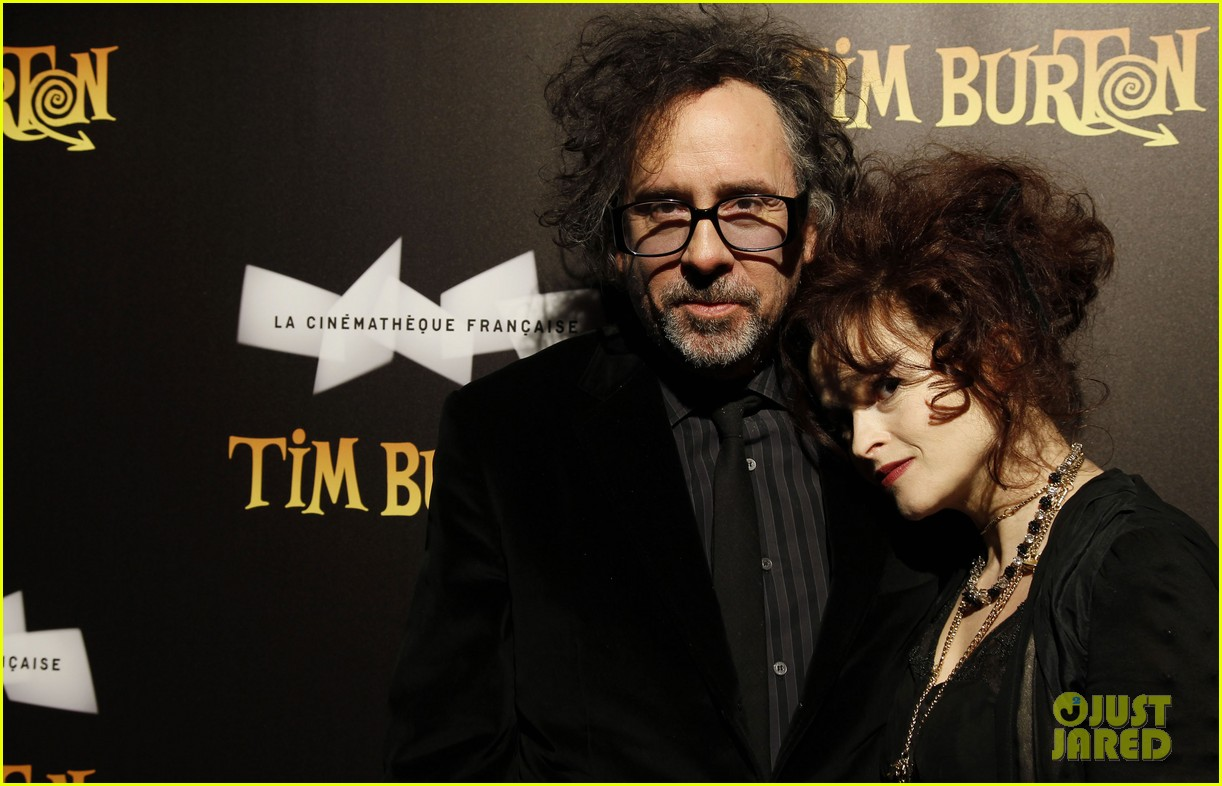 helena bonham carter tim burton exhibition with eva green 072636172