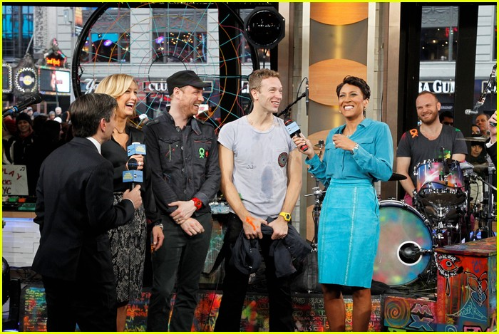 coldplay good morning america 02