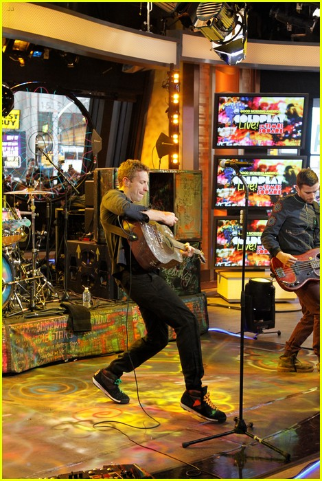 coldplay good morning america 03