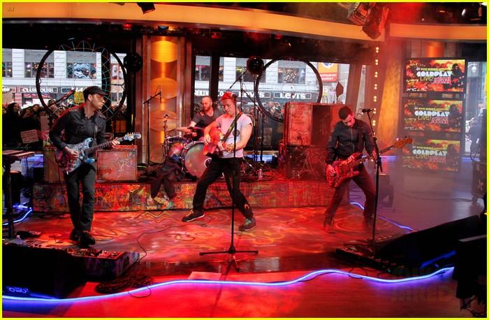 coldplay good morning america 042635427
