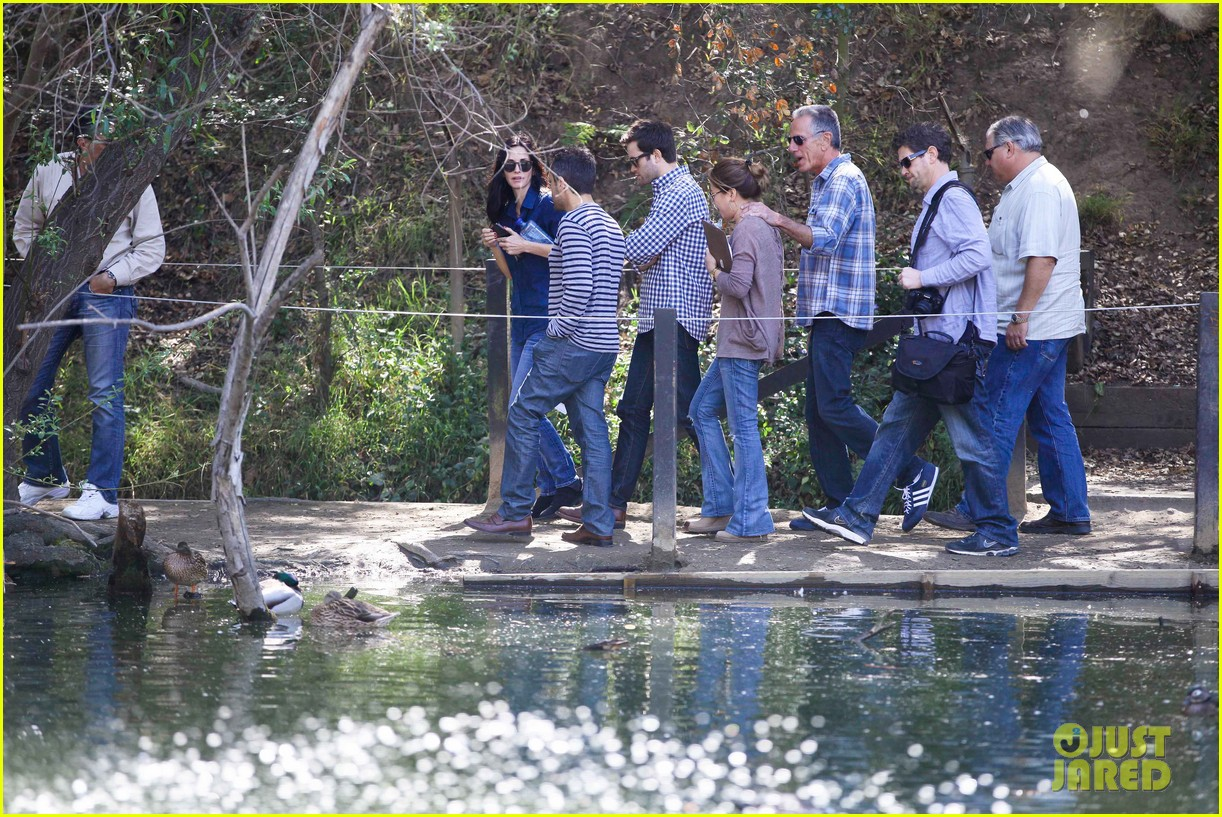 courteney cox cougar town location scouting 072635473