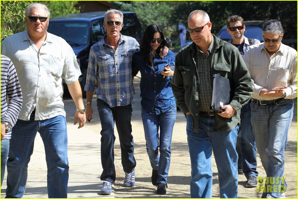 courteney cox cougar town location scouting 172635483