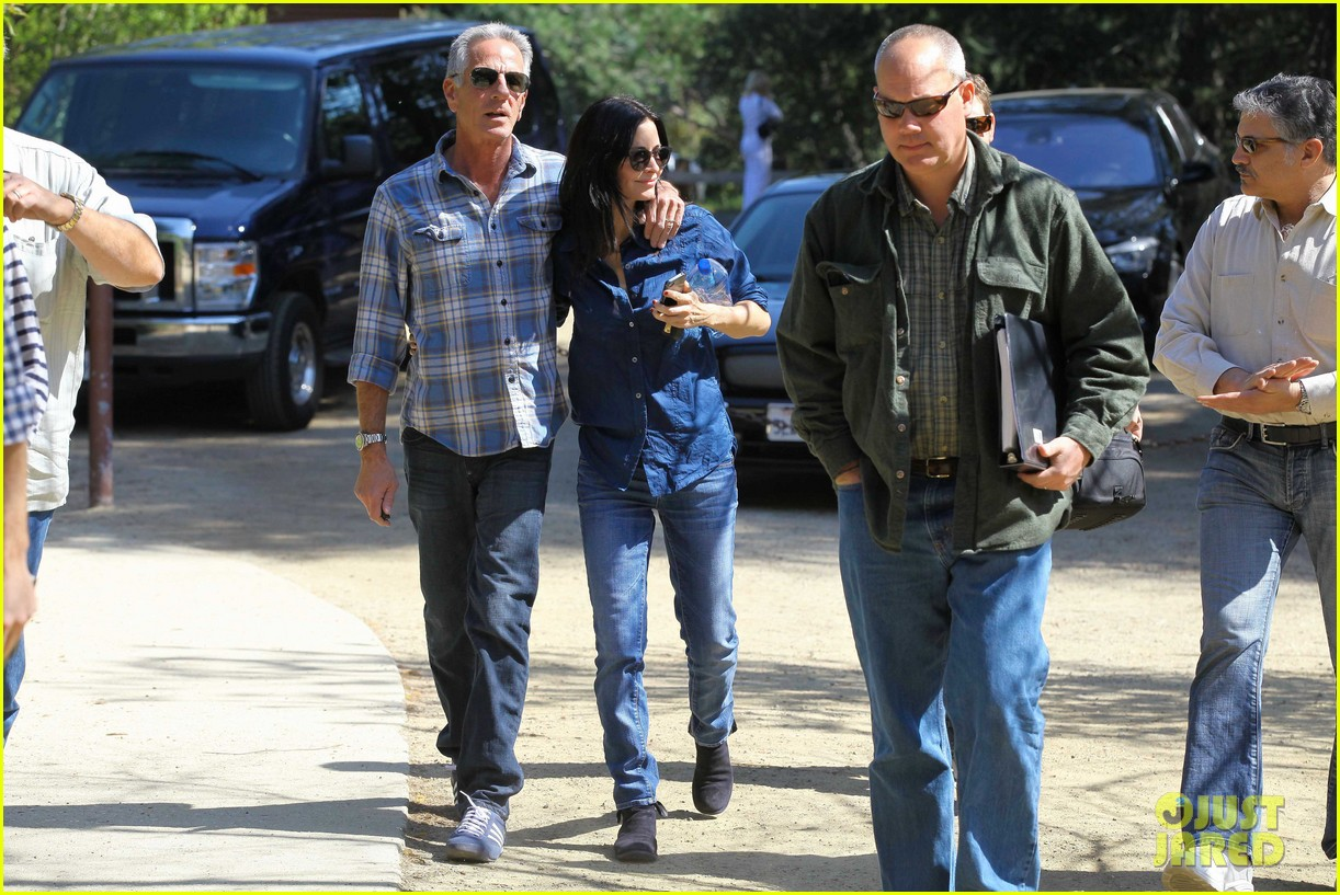 courteney cox cougar town location scouting 192635485