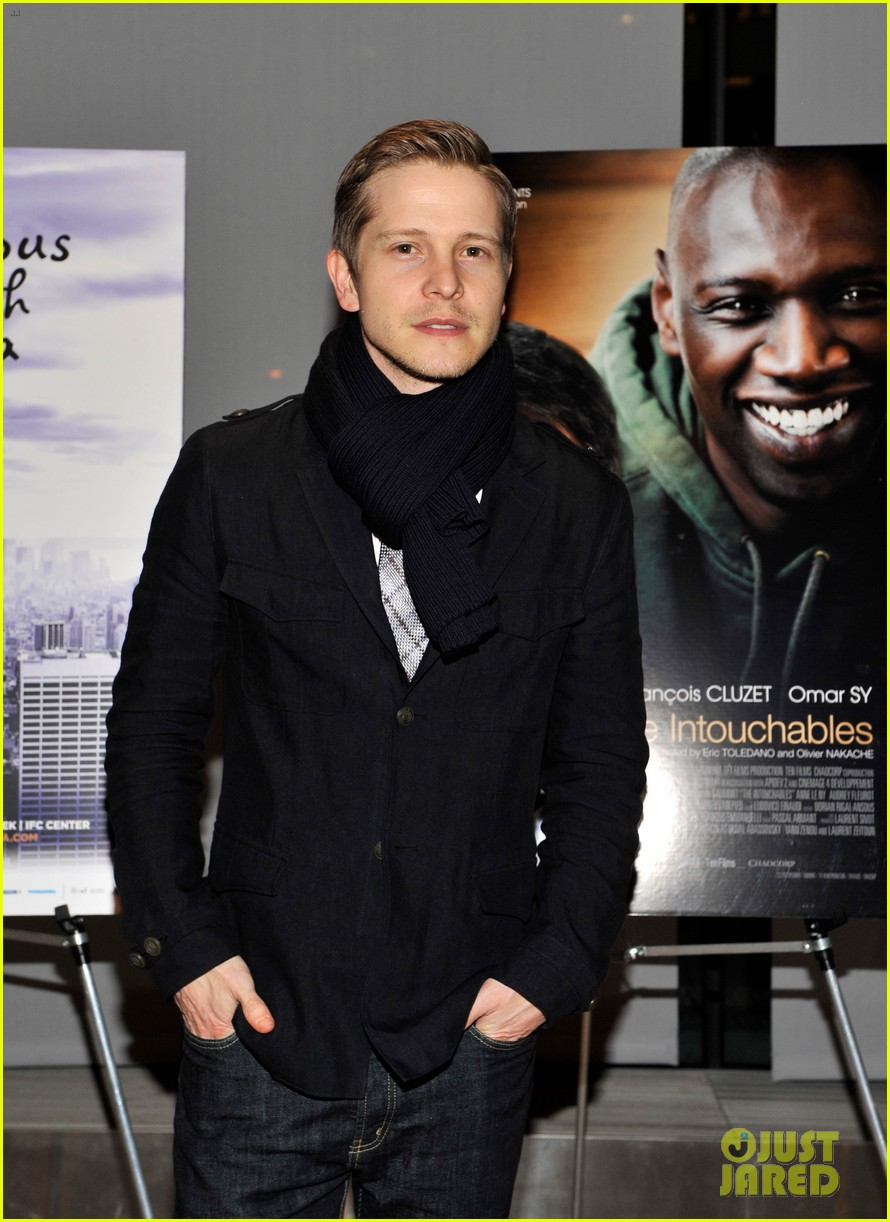 matt czuchry intouchables screening with archie panjabi 022635602