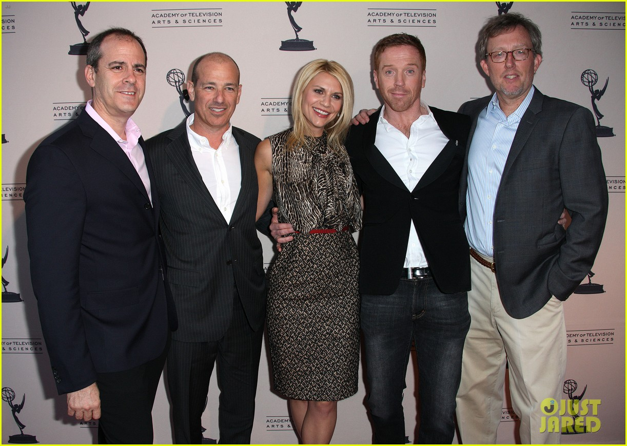 claire danes homeland panel with damian lewis 022641228