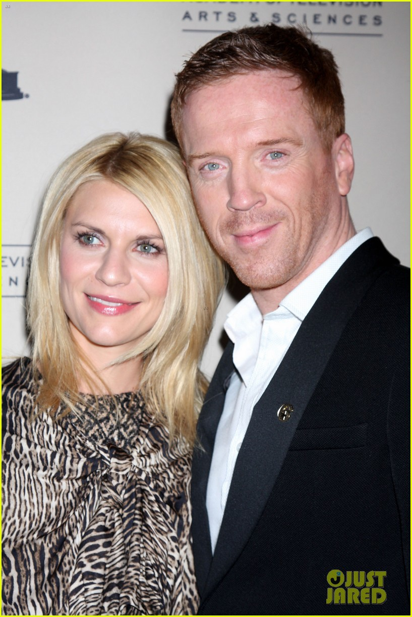 claire danes homeland panel with damian lewis 092641235