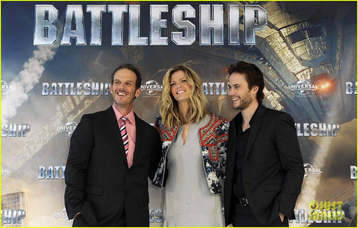brooklyn decker battleship hamburg photo call 102642564