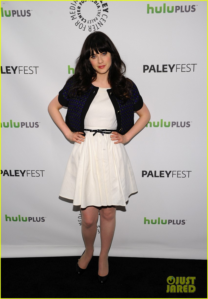 zooey deschanel new girl paleyfest 01