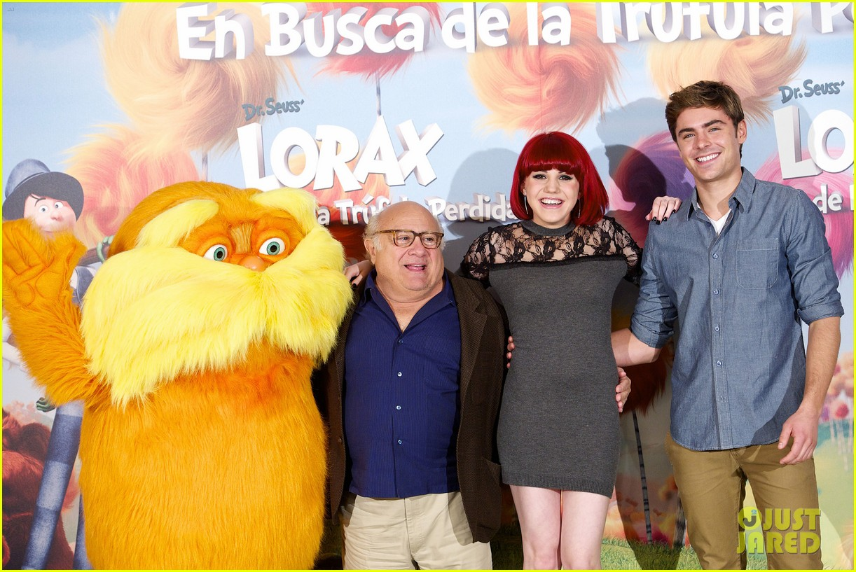 zac efron lorax photo call madrid 02