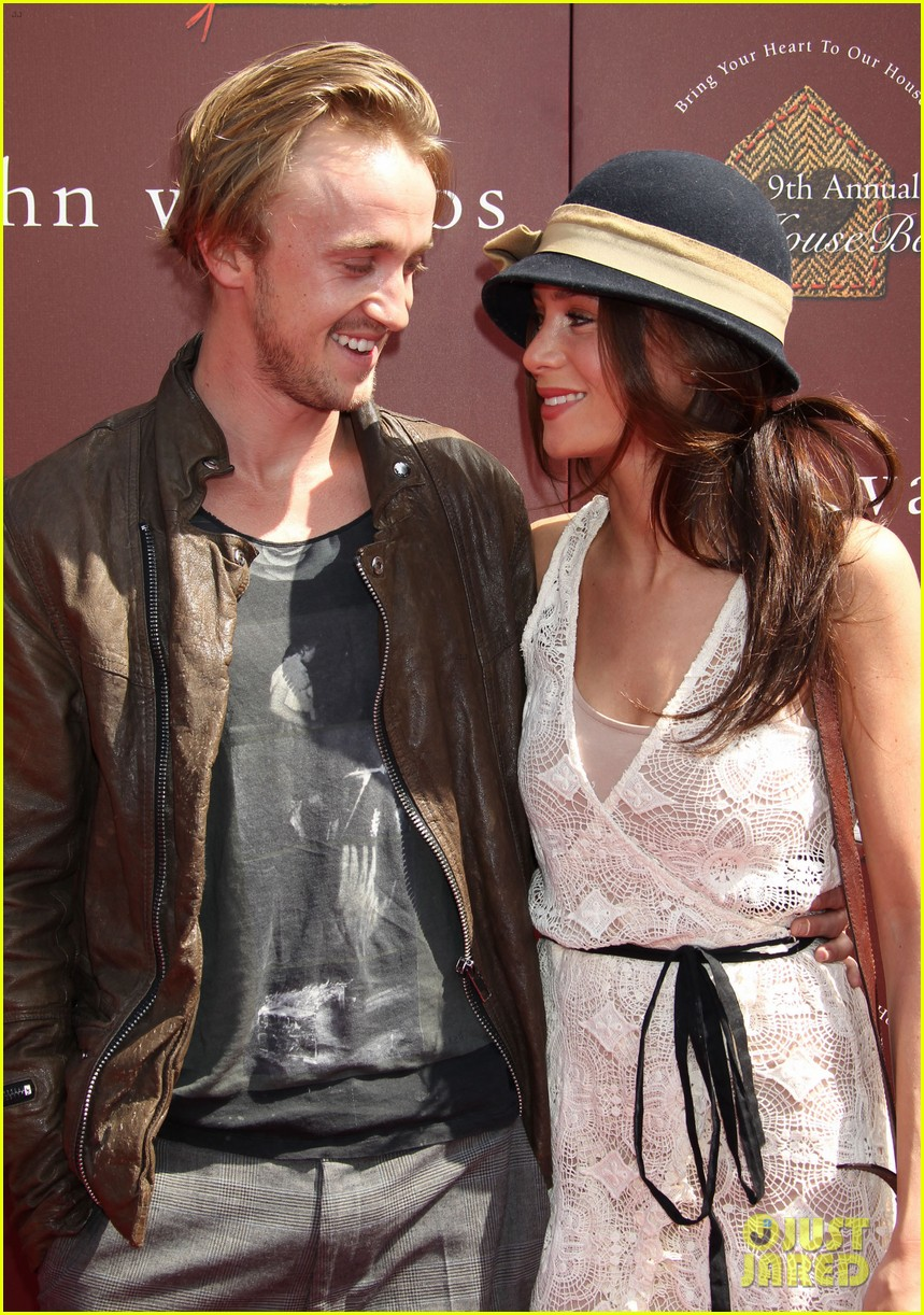 tom felton john varvatos stuart house benefit with jade olivia 122638273