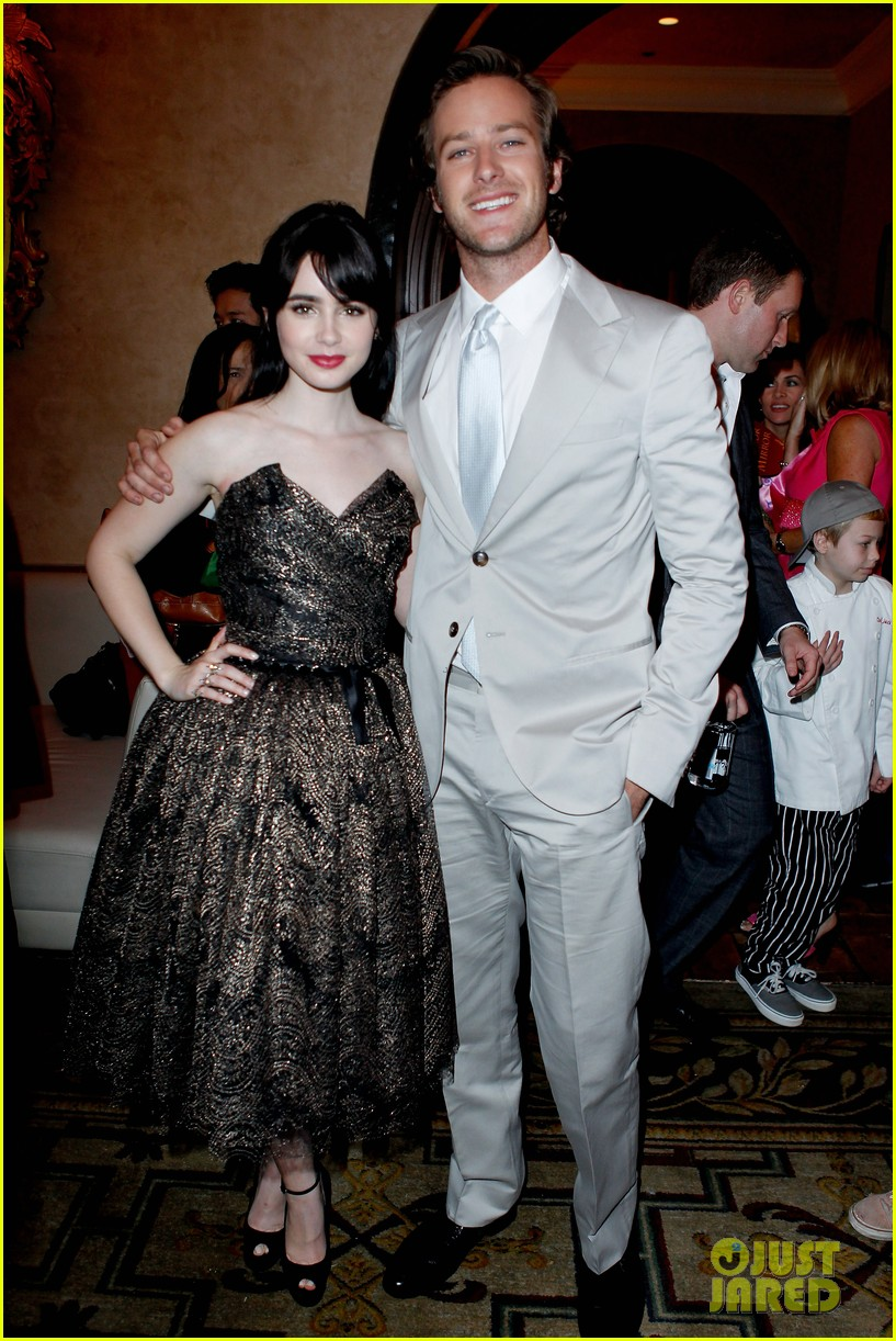 armie hammer mirror mirror after party with lily collins 012639990