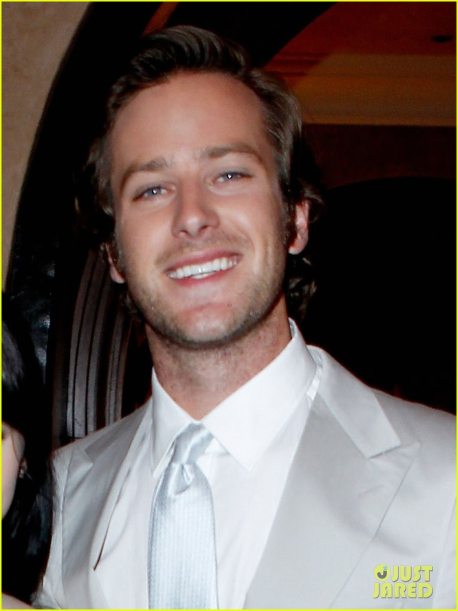armie hammer mirror mirror after party with lily collins 042639993