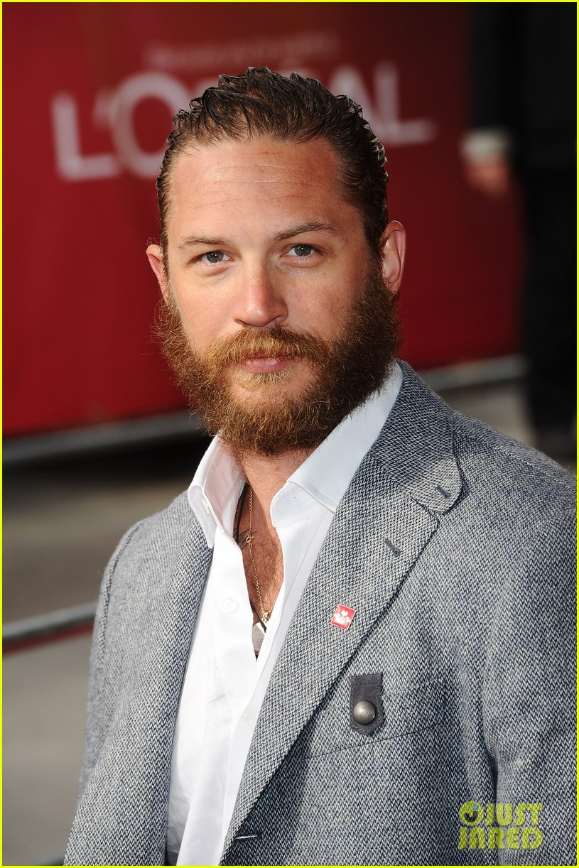 tom hardy beard princes trust 012638901