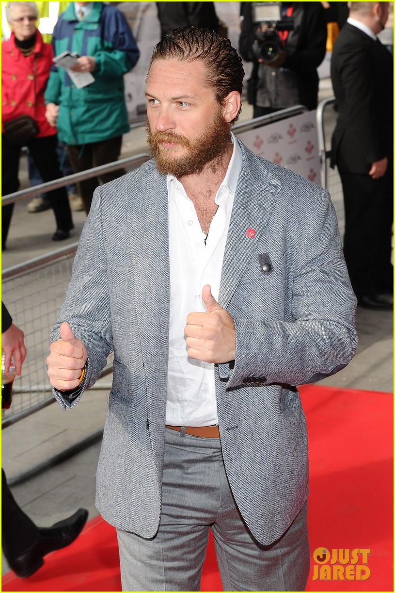 tom hardy beard princes trust 05