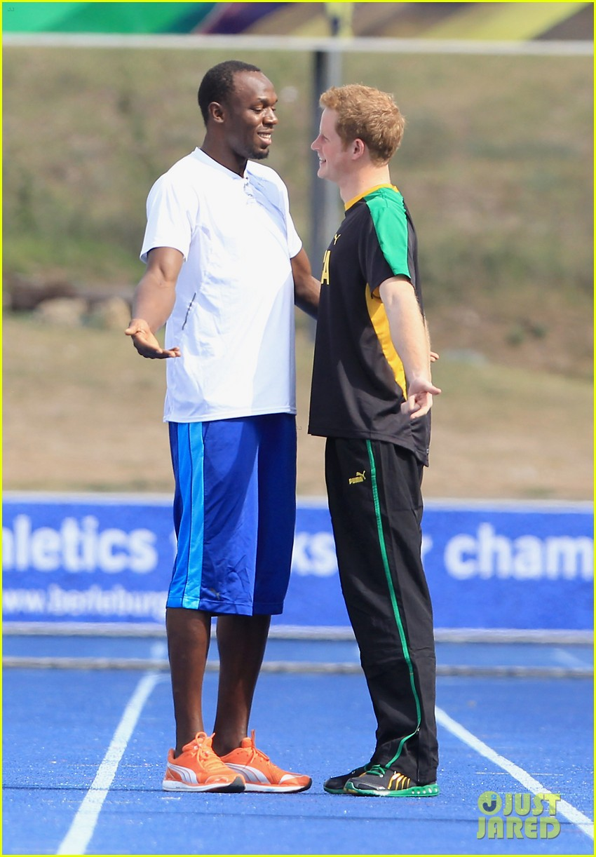 prince harry usain bolt 072636539