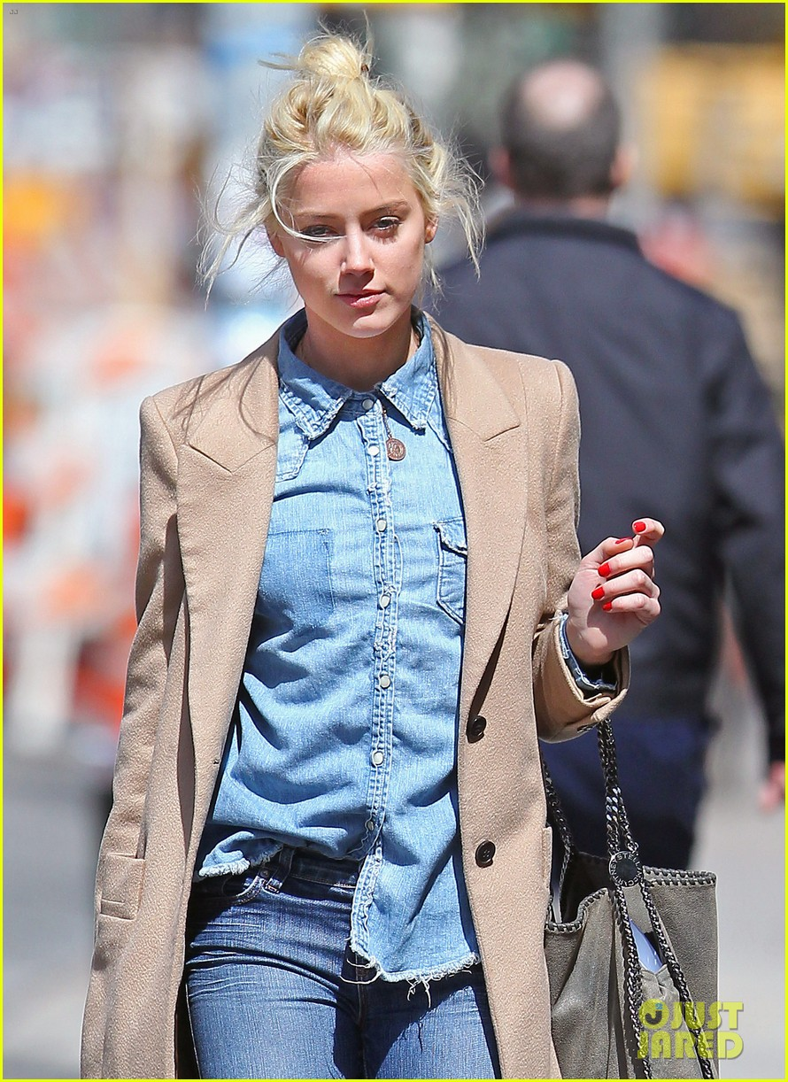 amber heard spy day with pink pooch 032642879