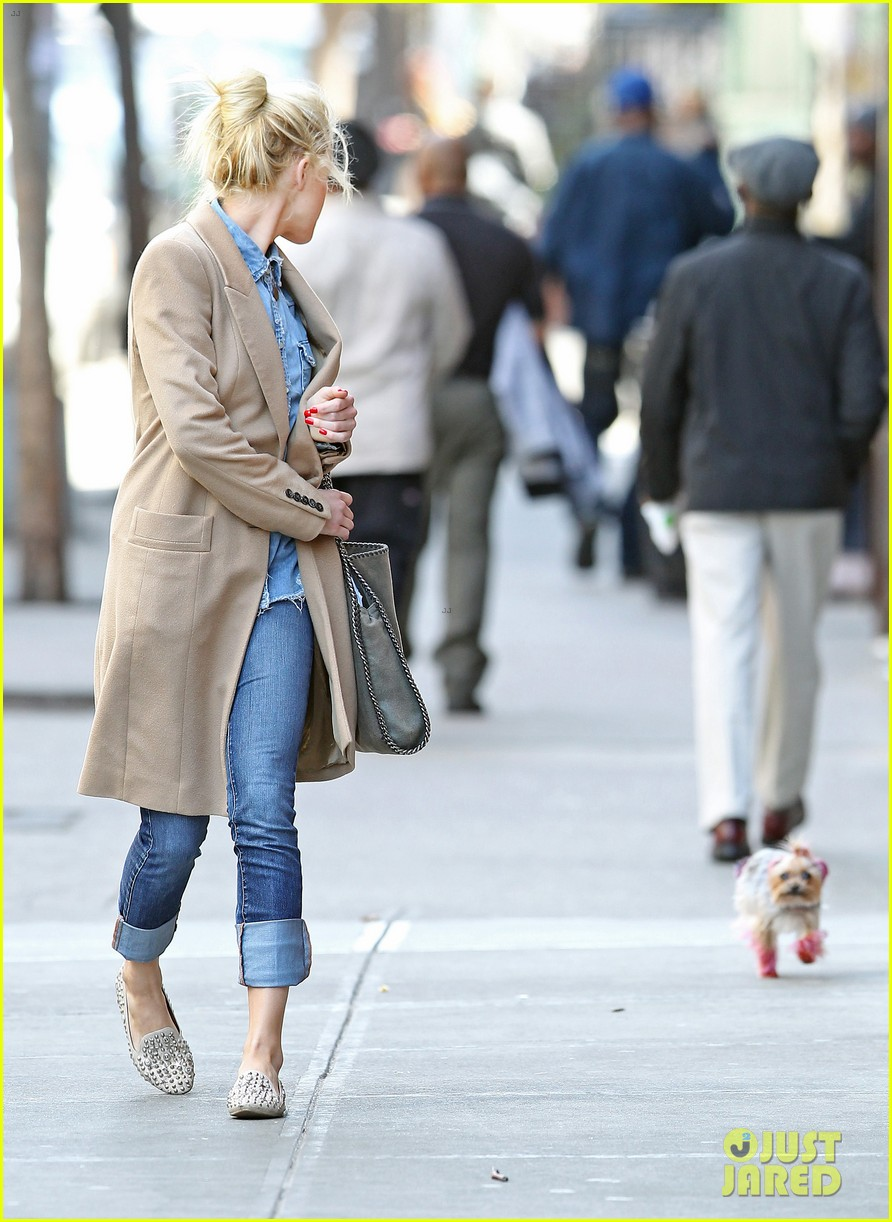 amber heard spy day with pink pooch 102642886