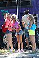 vanessa hudgens neon shorts 08
