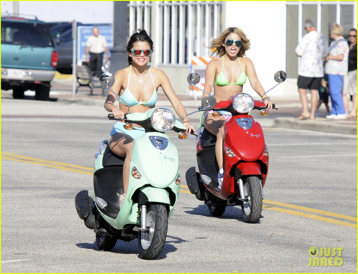 vanessa hudgens bikini scooter spring breakers 052638673