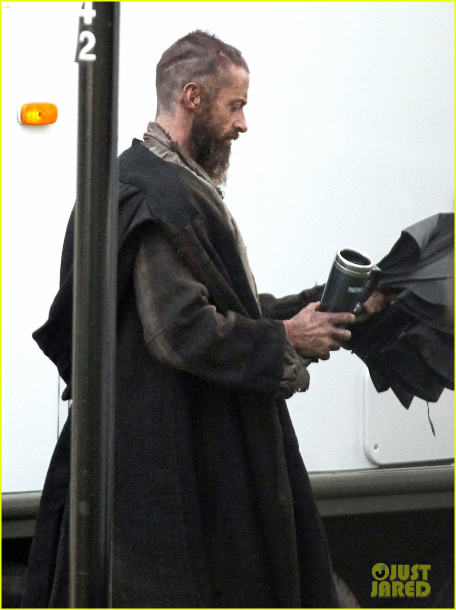 hugh jackman les mis first pictures jean valjean 052640641