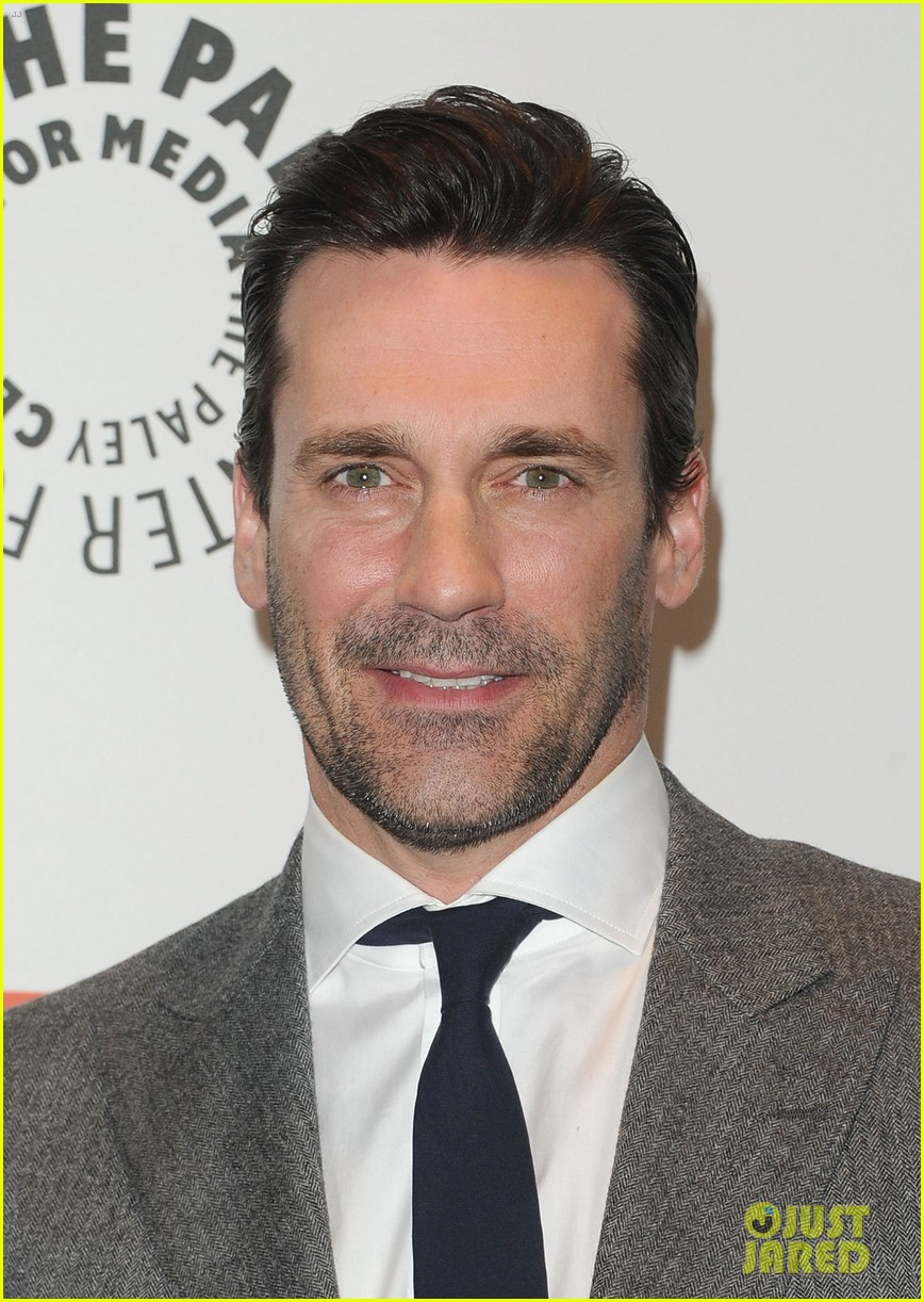 january jones jon hamm mad men paleyfest 14