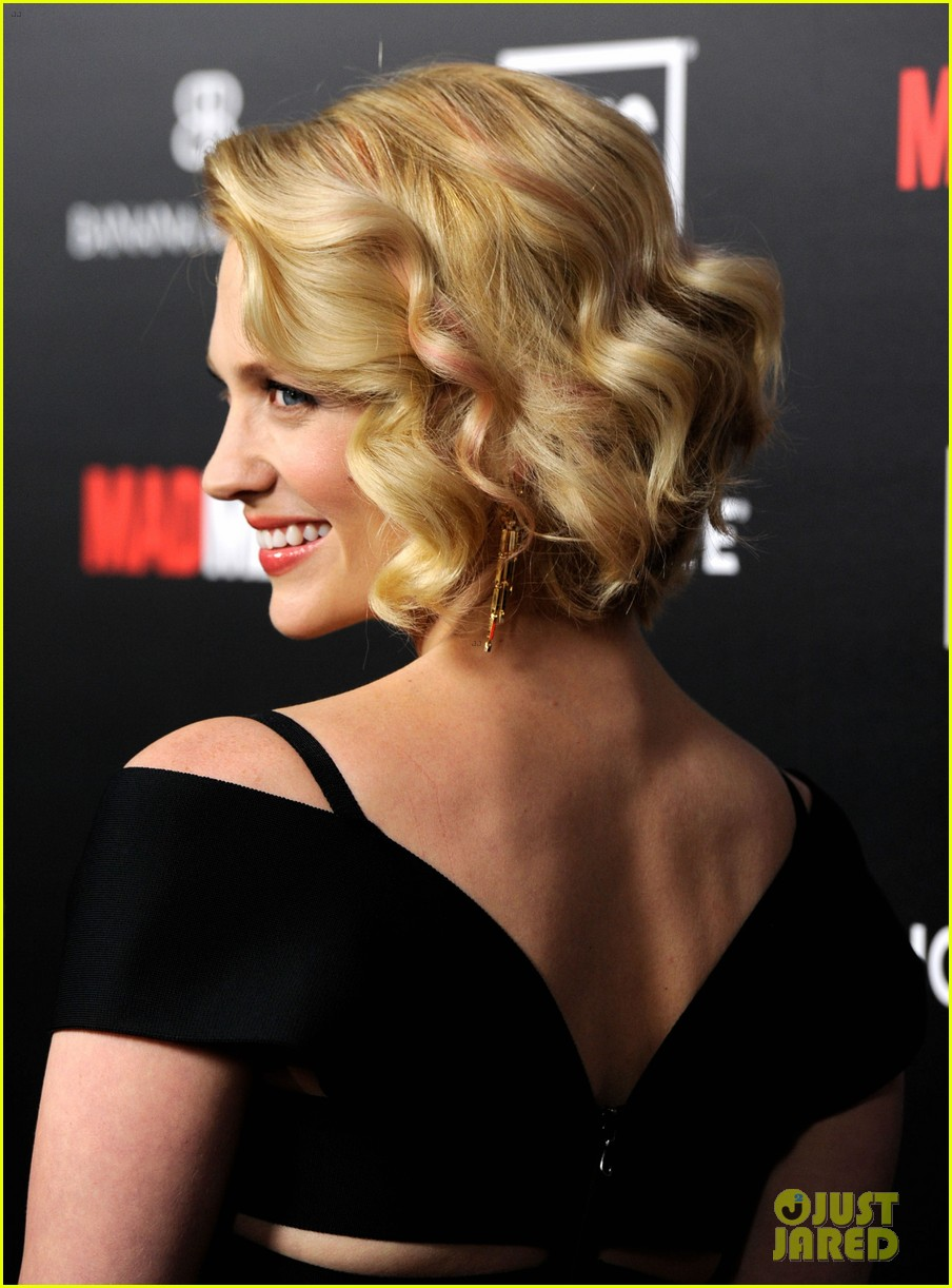 january jones jon hamm mad men premiere 102639067