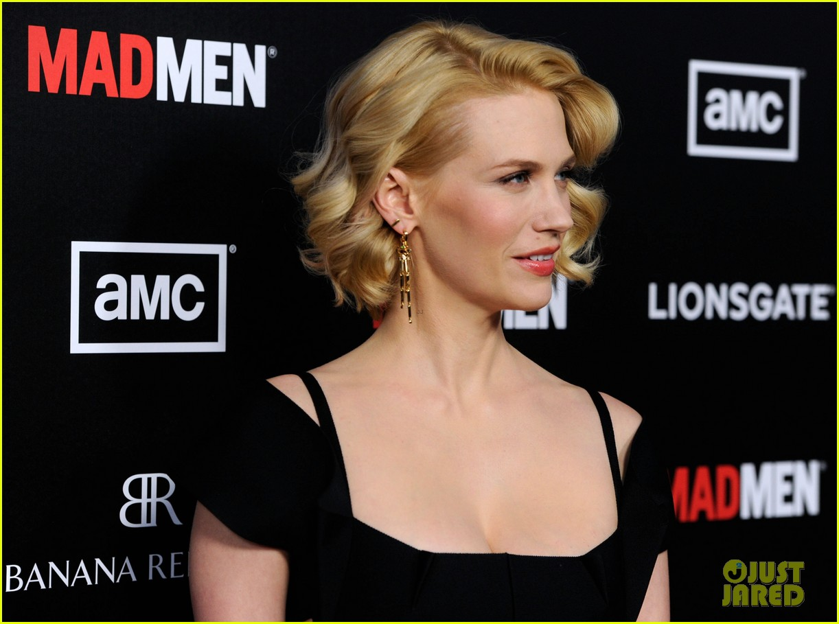 january jones jon hamm mad men premiere 152639072