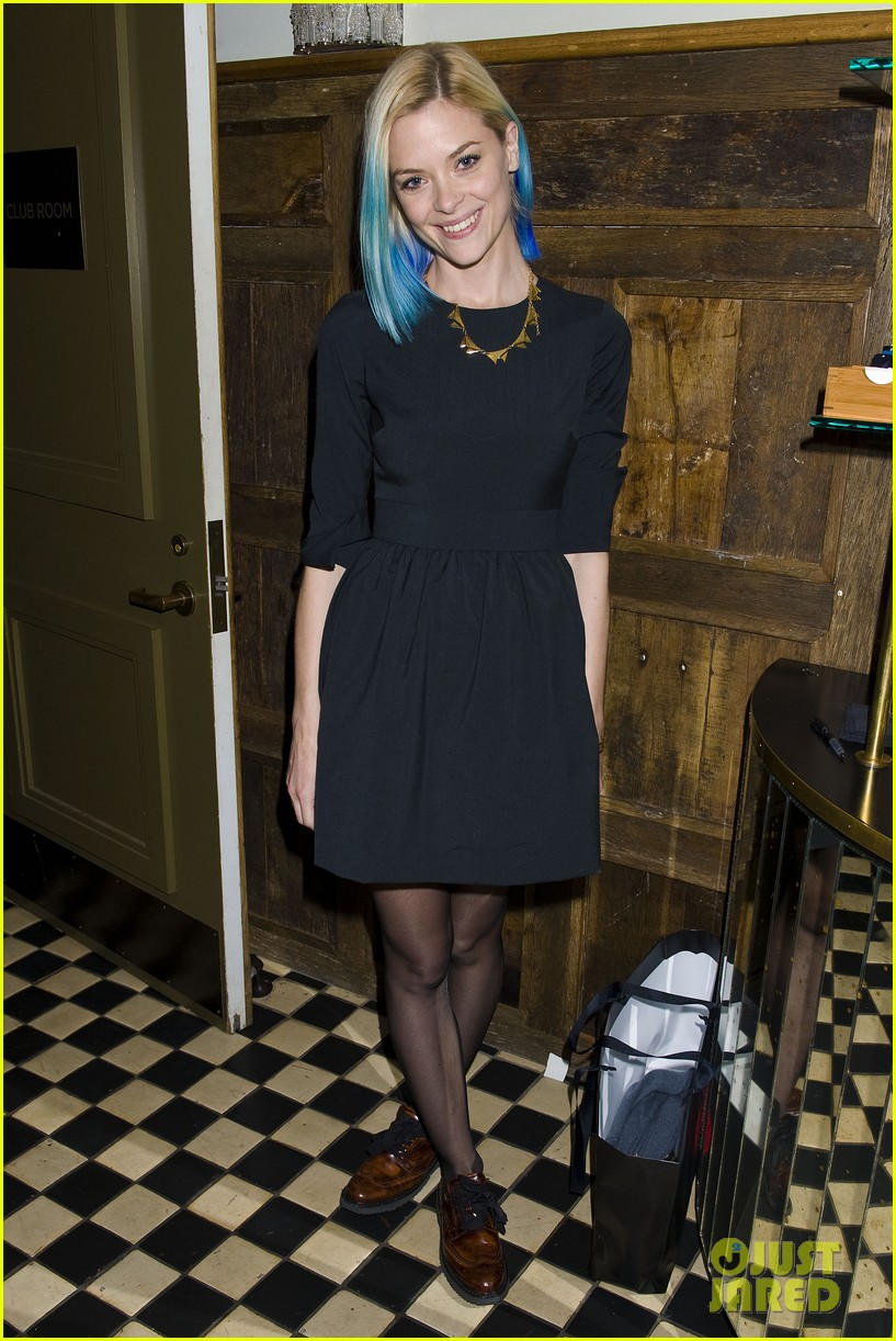 jaime king blue hair kyle newman birthday party 092640249
