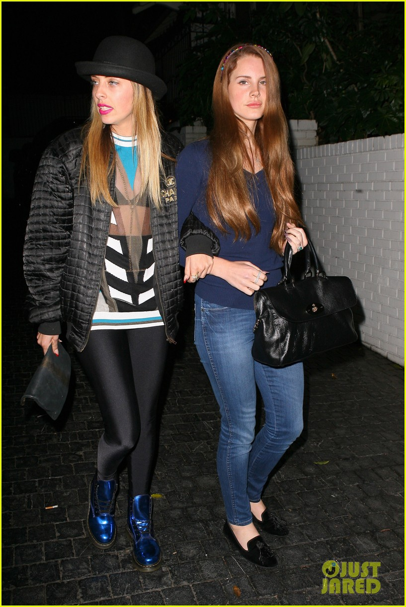 Lana Del Rey: Chateau Marmont Night Out!: Photo 2643895 | Lana Del Rey, Maeve Reilly Pictures | Just Jared