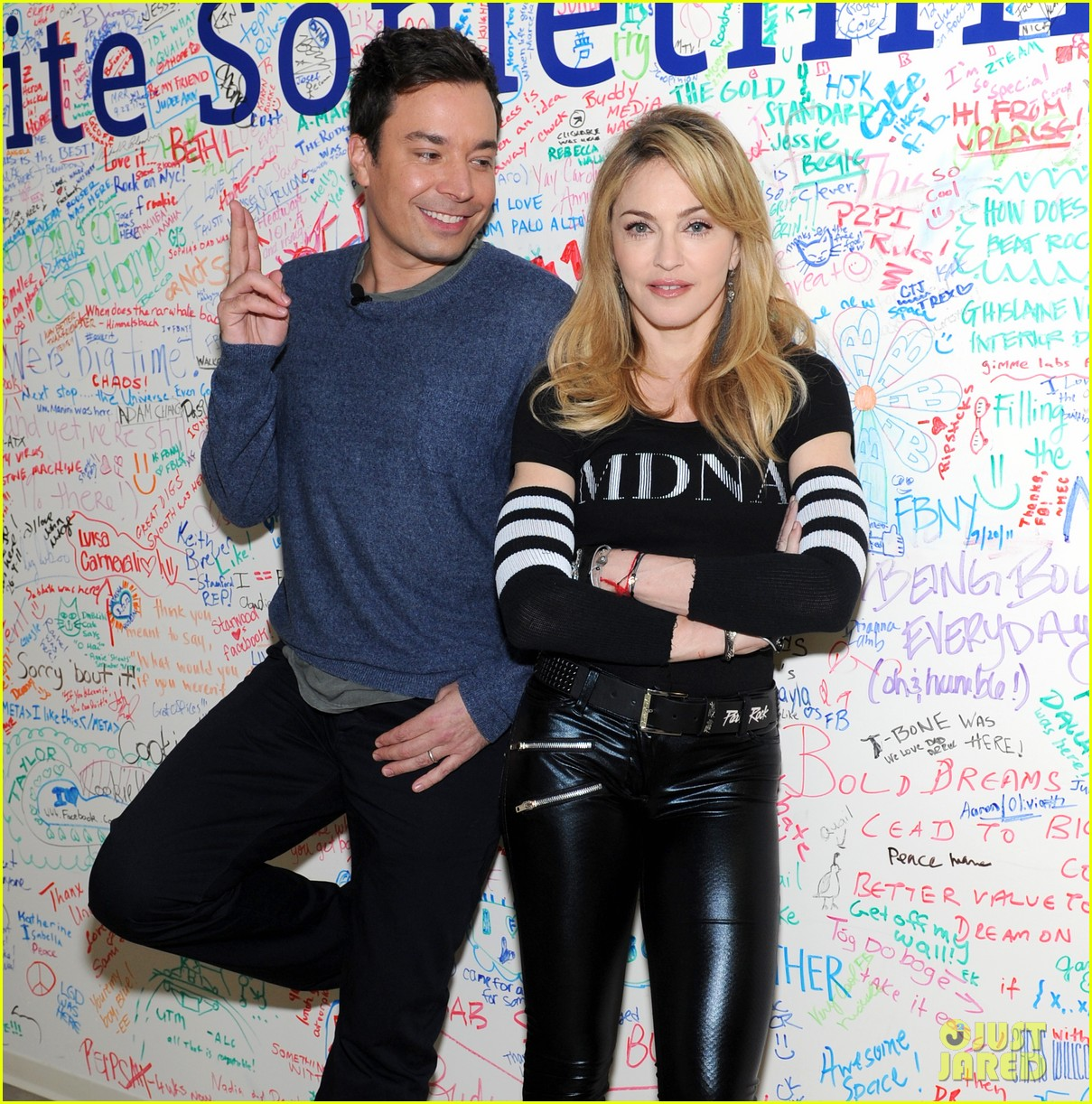 madonna facebook live chat with jimmy fallon 01