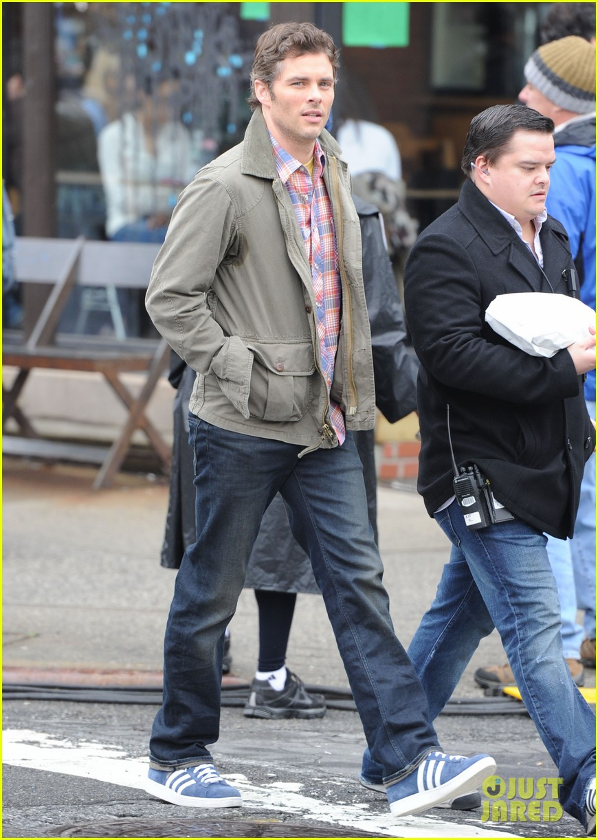 james marsden new york filming 022639768