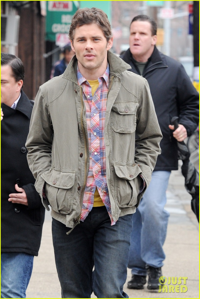 james marsden new york filming 052639771