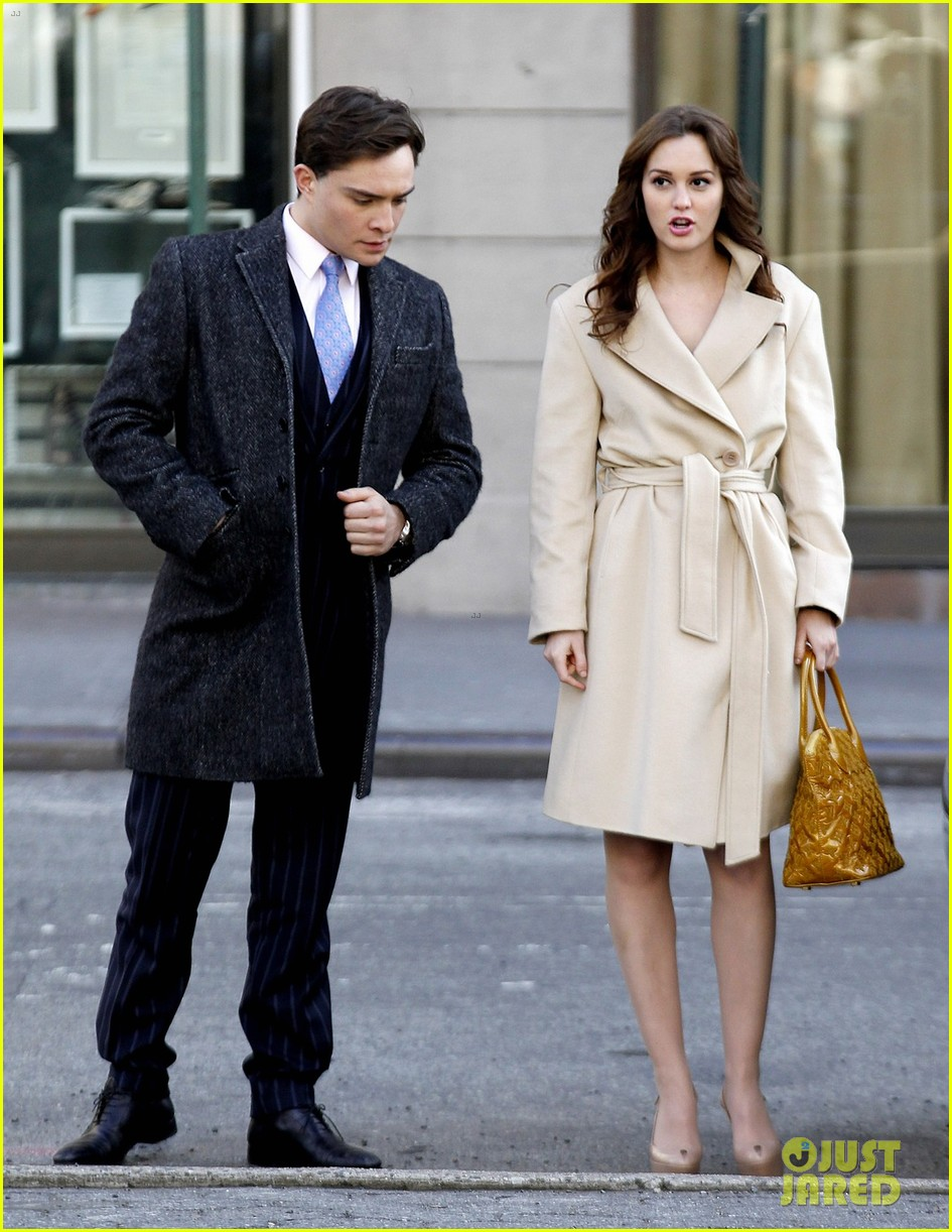 ed westwick dating leighton meester cw