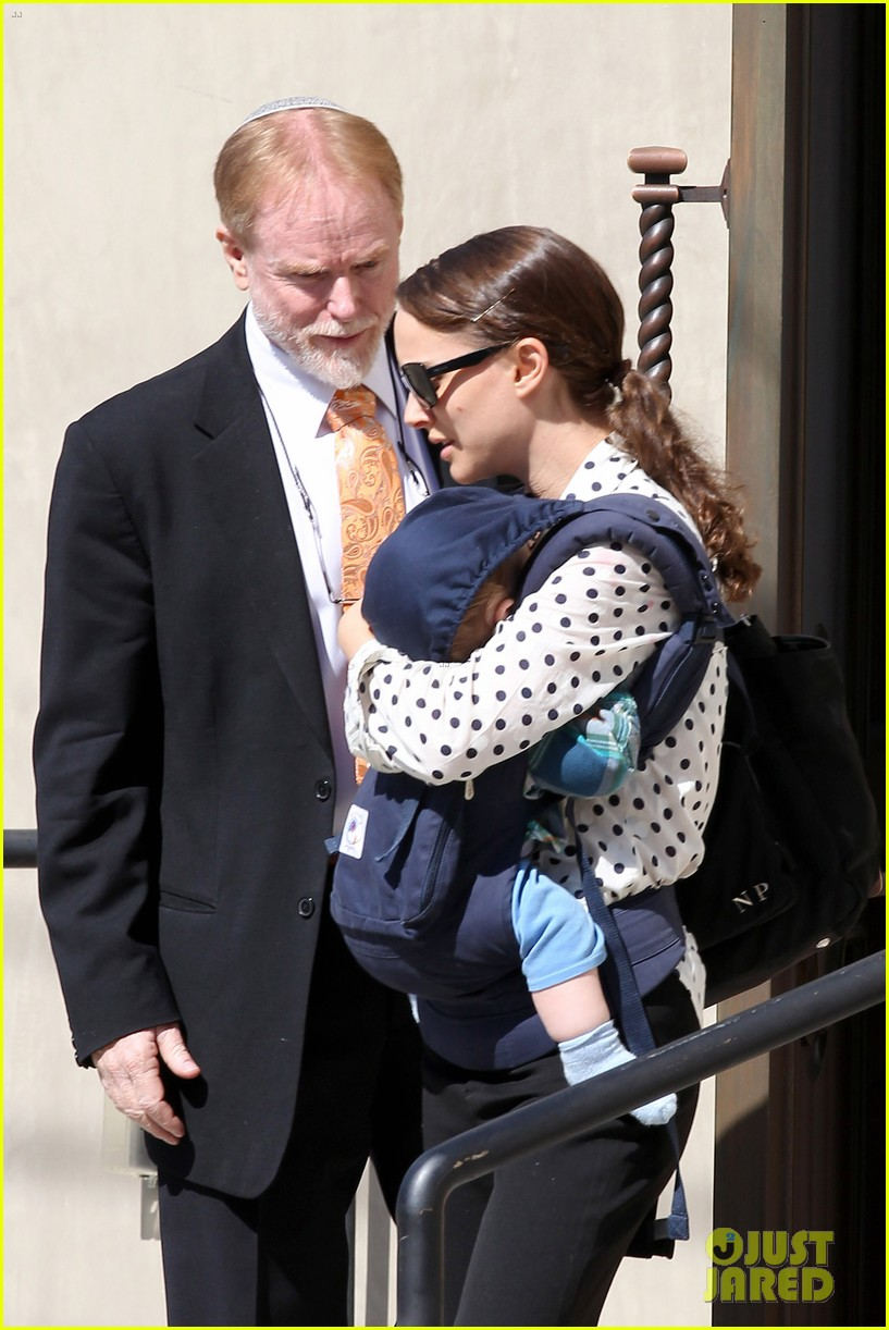 natalie portman temple services with benjamin and aleph 102635662