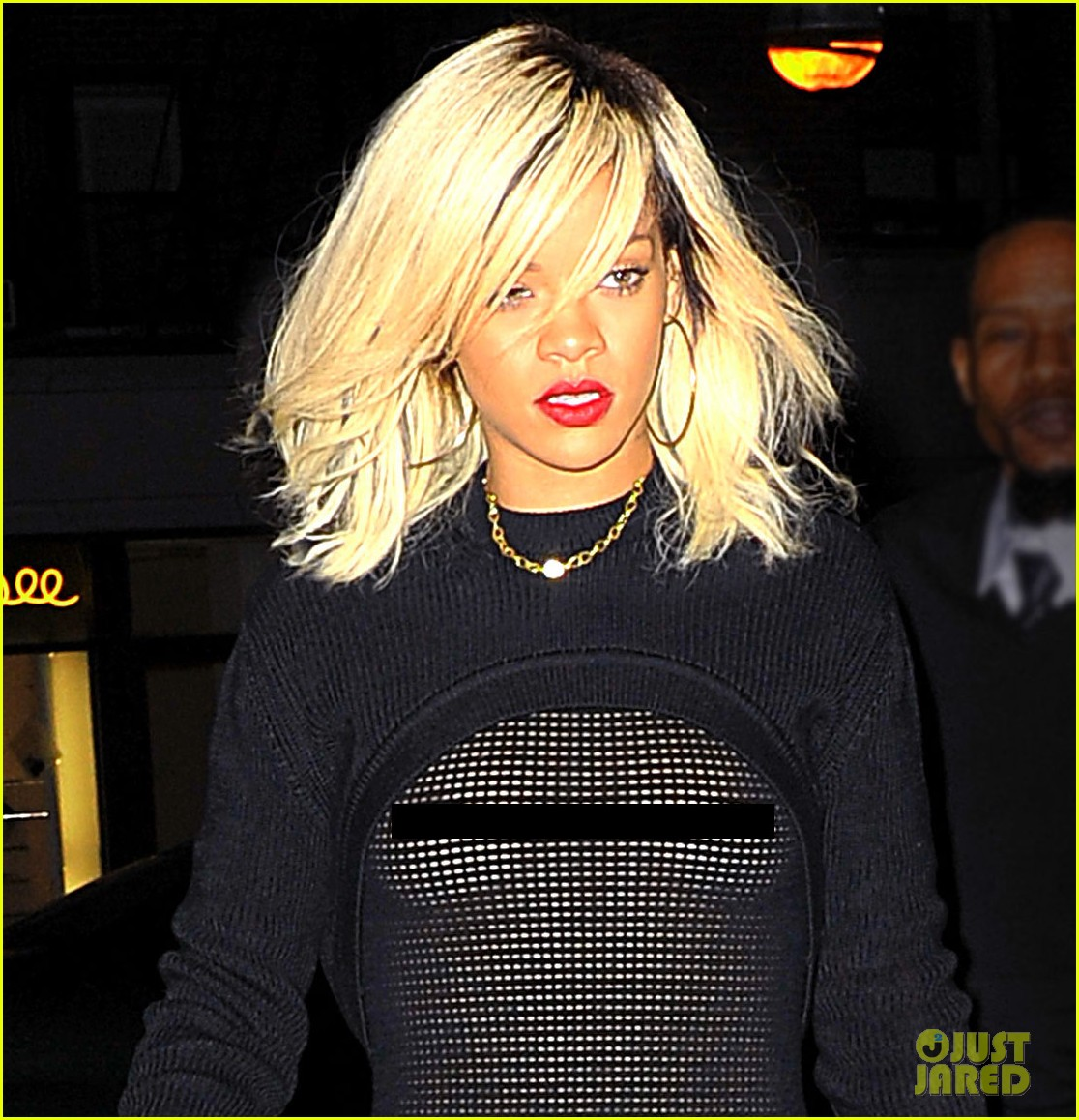 rihanna sheer shirt nyc 022638148