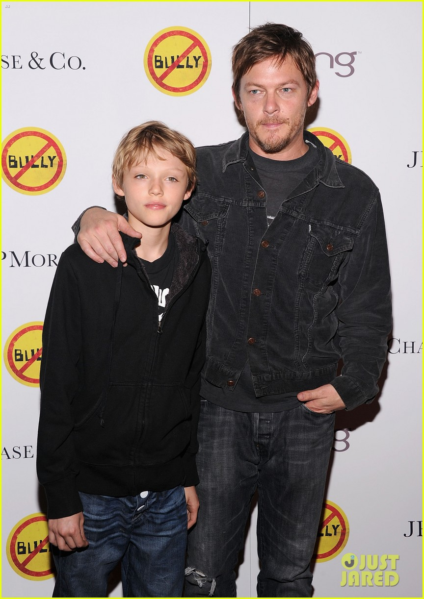 meryl streep norman reedus bully screening 052640738
