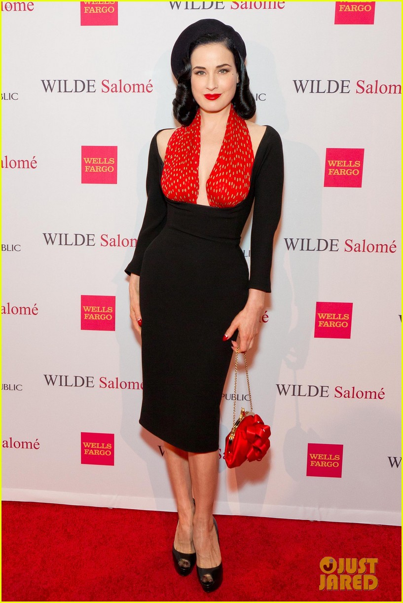 dita von teese wilde salome party 042641549