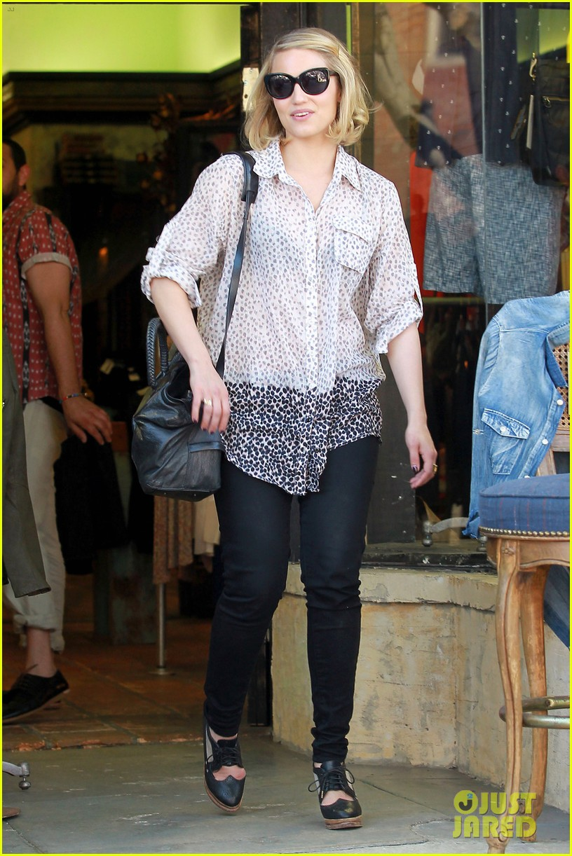dianna agron jeans shopping 022645042
