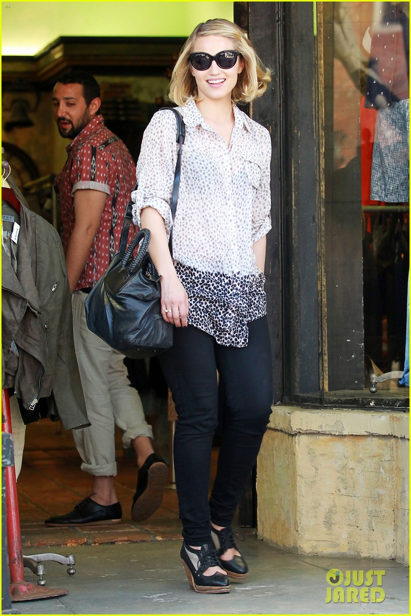 dianna agron jeans shopping 042645044
