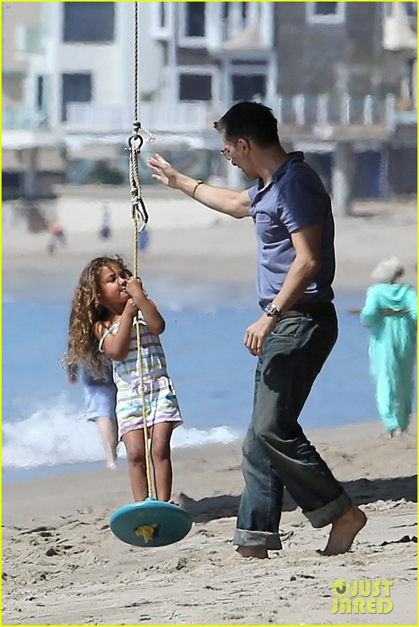 halle berry olivier martinez malibu beach time with nahla 192646520