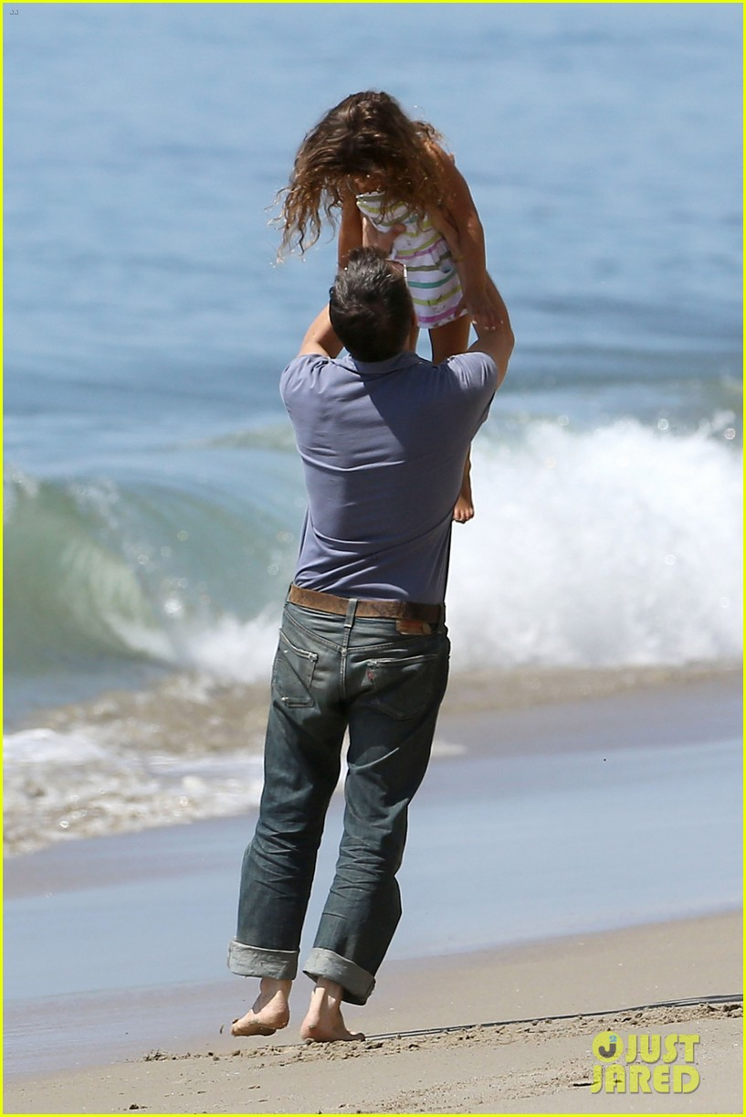 halle berry olivier martinez malibu beach time with nahla 292646530