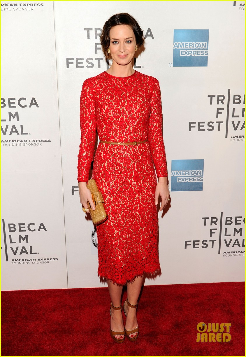 emily blunt your sisters sister premiere tribeca 092651003