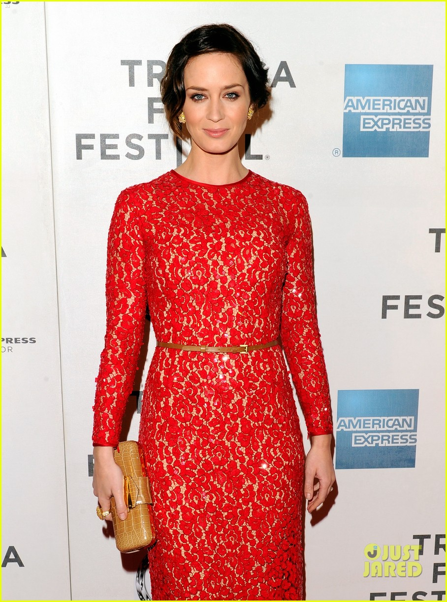 emily blunt your sisters sister premiere tribeca 102651004
