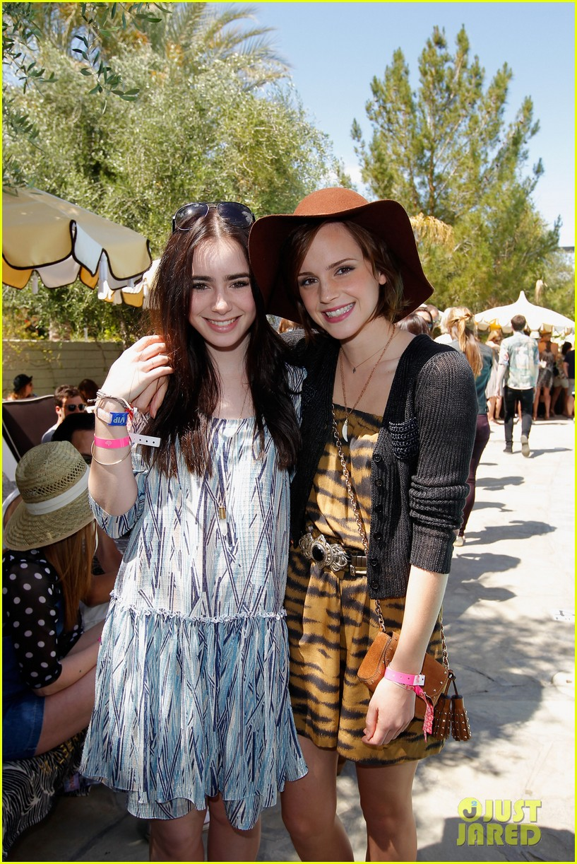 kate bosworth emma watson lily collins mulberry bbq coachella 042648959