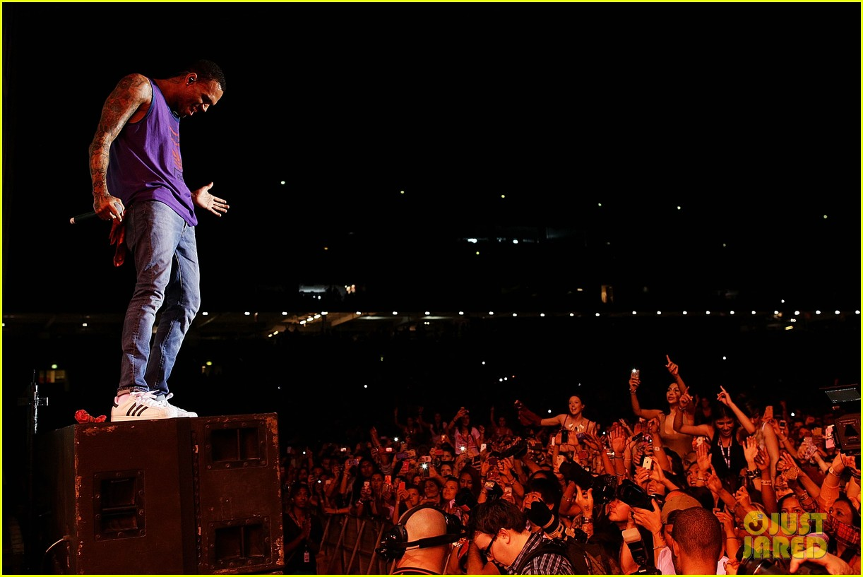 chris brown supafest sydney 03