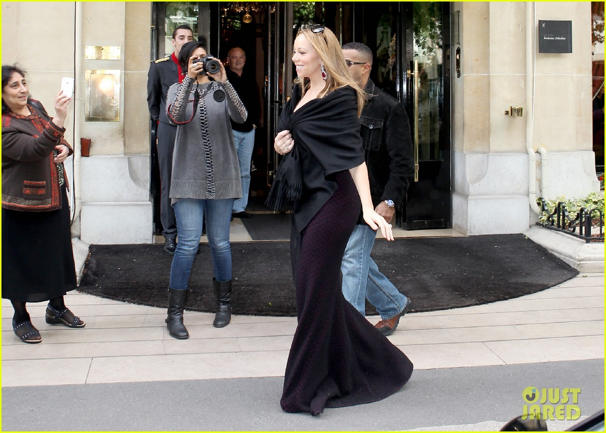 mariah nick leaving paris 112655595